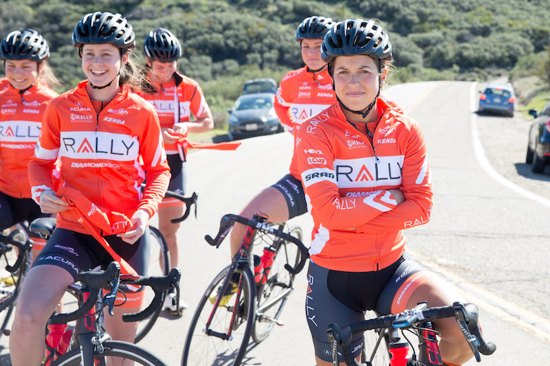 Rally Cycling | 2016 Training Camp | Women's Action | Yerba Buena Dr. | © Sam Wiebe