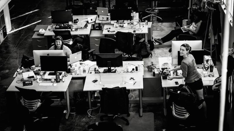 Anderson at Strava's San Francisco headquarters. Photo by Ben De Jesus.
