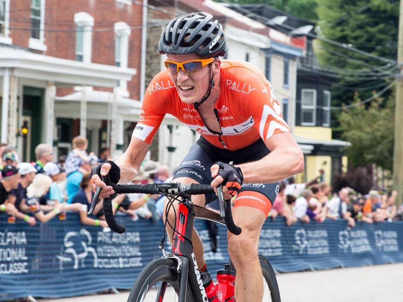 Will Routley at the 2016 Philadelphia International Cycling Classic.